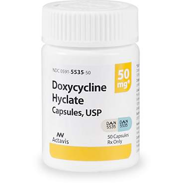 Doxycycline 50 mg Capsules