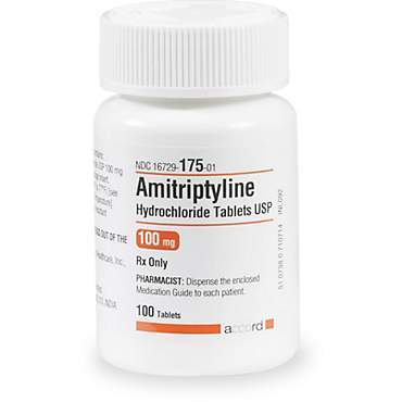Amitriptyline 100 mg Tablets