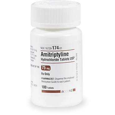 Amitriptyline 75 mg Tablets