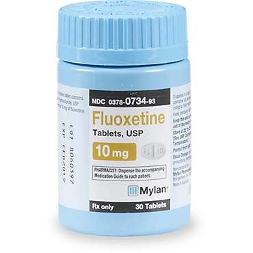 Fluoxetine 10 mg Tablets