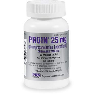 Proin 25 mg Chewable Tablets