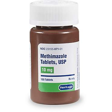 Methimazole 10 mg Tablets