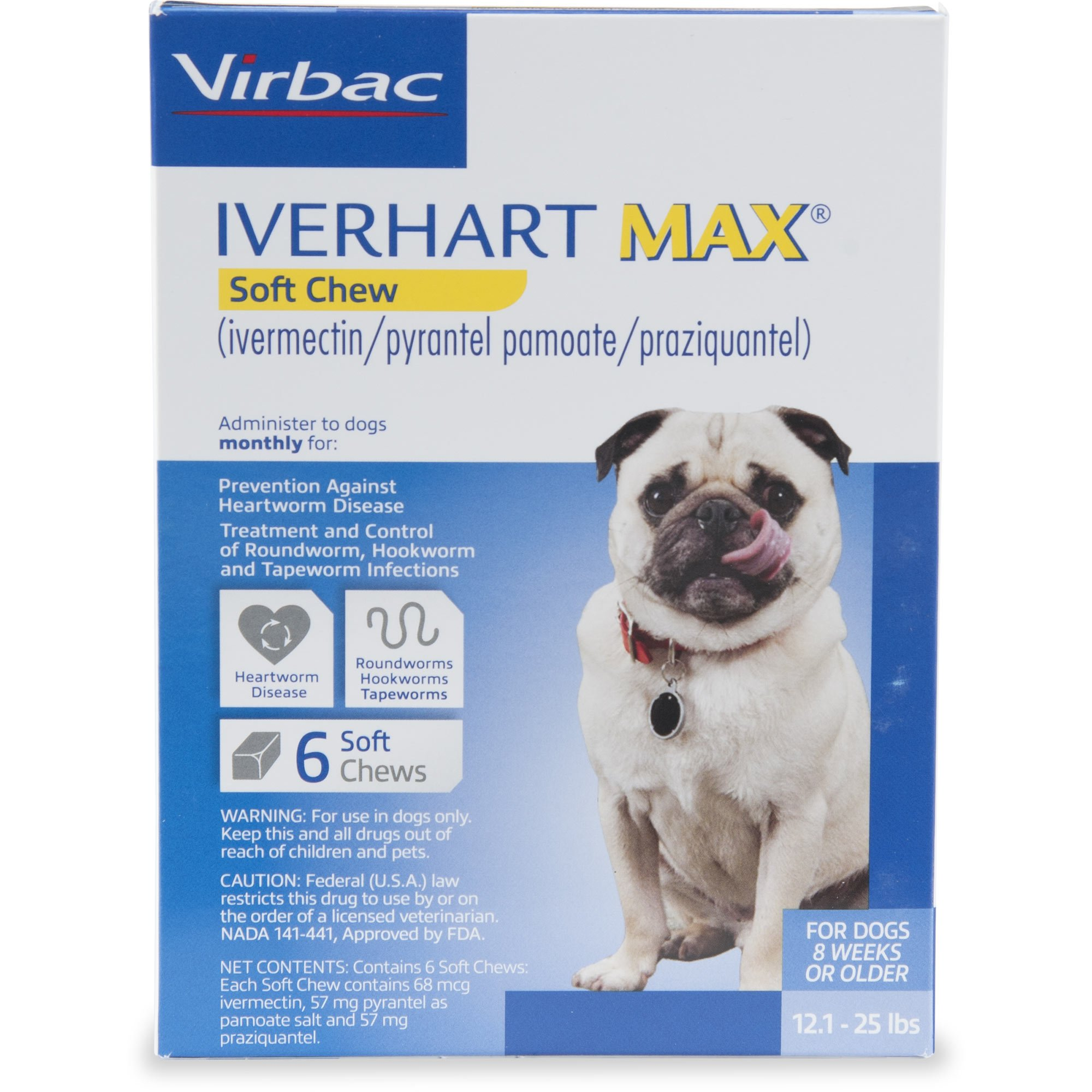 Iverhart Max Soft Chews for Dogs 12 to 25 lbs  | Petco