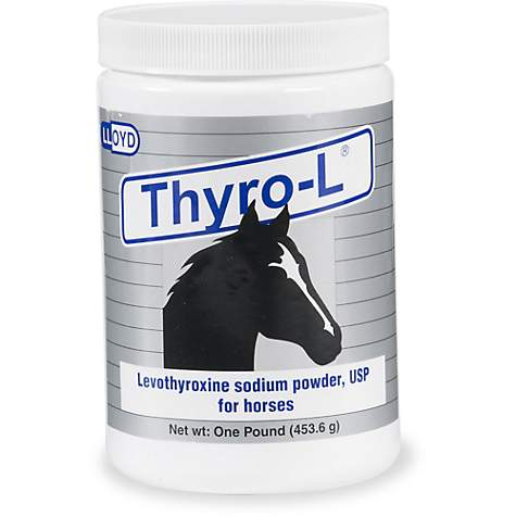 Thyro-L Powder for Horses, 1 lb