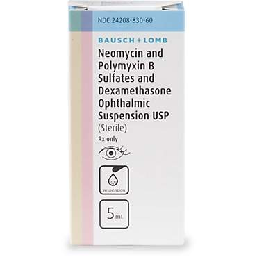 Neo-Poly-Dex Ophthalmic Suspension
