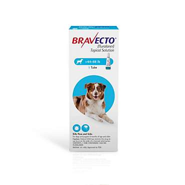 Bravecto Topical Solution for Dogs - Blue