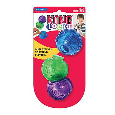 KONG Lock-It Treat Dog Toys