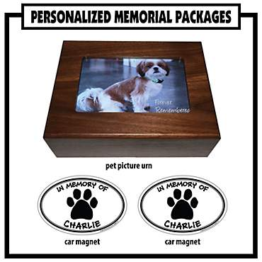 Imagine This Personalized Memorial Pet Urn Package