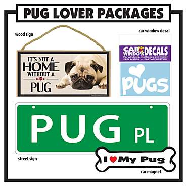 Imagine This Pug Gift Package