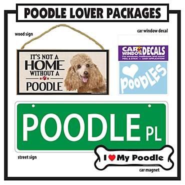 Imagine This Poodle Gift Package
