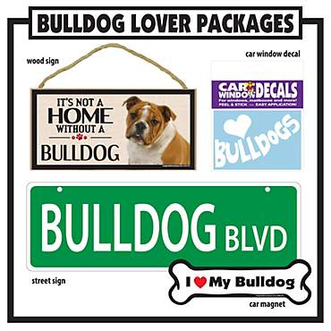Imagine This Bulldog Gift Package