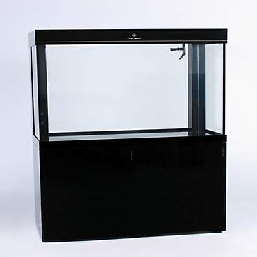 Pro Clear Aquatic Systems All in One Black Glass Aquarium