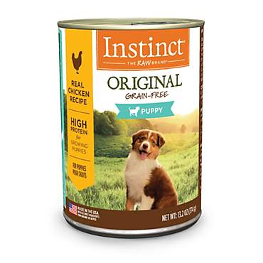 Instinct Original Grain Free Real Chicken Recipe Wet Canned Puppy Food by Nature's Variety
