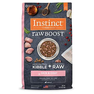 Instinct Raw Boost Skin & Coat Health Grain Free Recipe with Real Chicken Dry Dog Food by Nature's Variety
