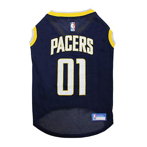 39daea5d8fb Pets First NBA Indiana Pacers Basketball Mesh Dog Jersey | Petco