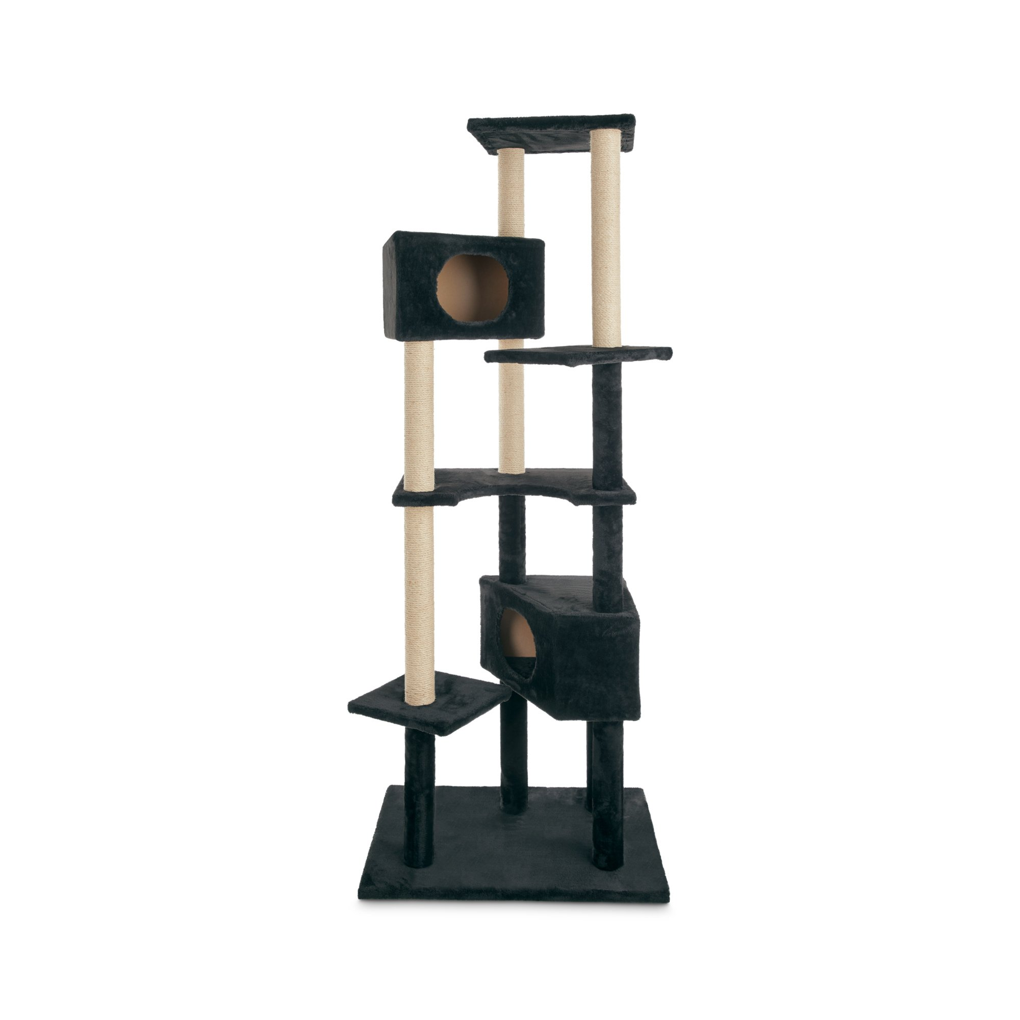 Animaze 6 Level Black Cat Tree 76 H Petco