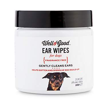 Well & Good Small Dog Ear Wipes