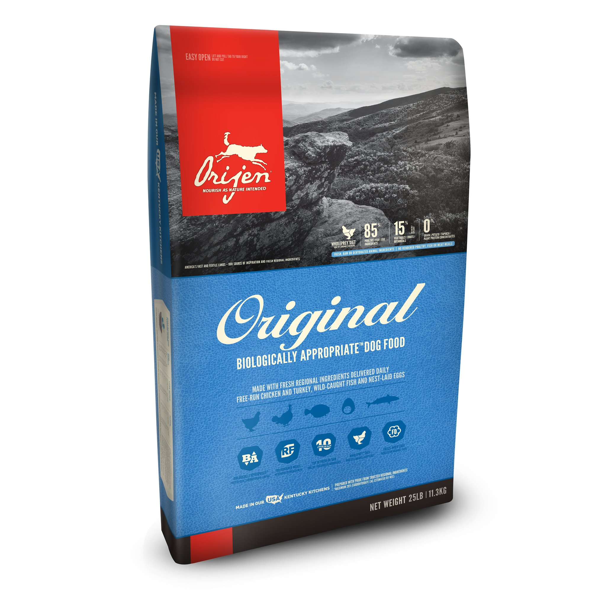 4 Orijen Original Dry Dog Food