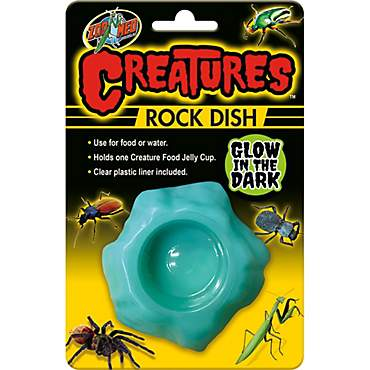 Zoo Med Creatures Rock Dish Glow in the Dark