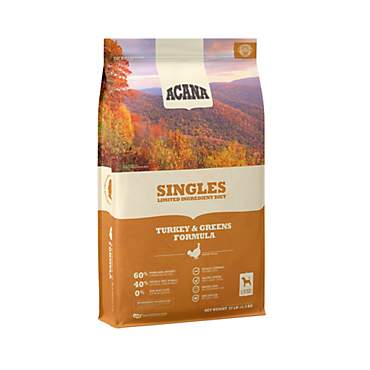 ACANA Singles Turkey & Greens Dry Dog Food