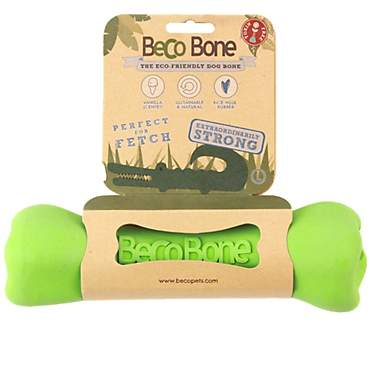 Beco Pet Bone Green Dog Toy