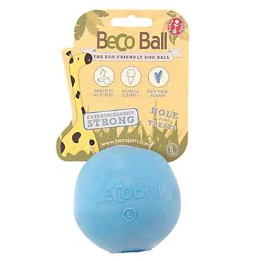 Beco Pet Blue Ball Dog Toy