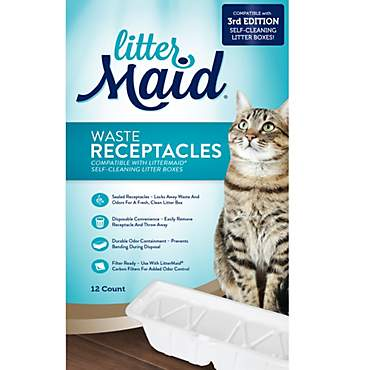 LitterMaid 3rd Edition Waste Receptacles for Cats