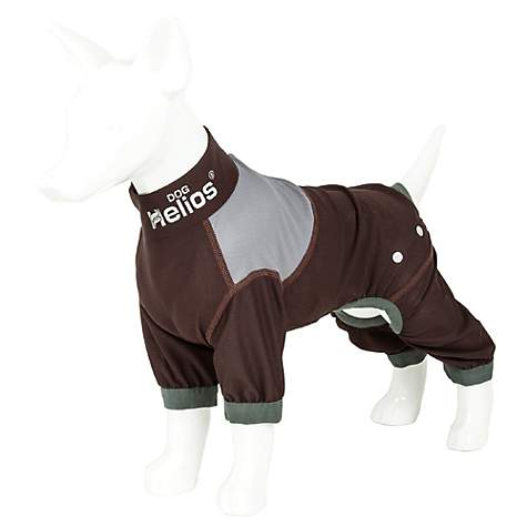Dog Helios Tail Runner Lightweight Brown Dog Track Suit, X-Large