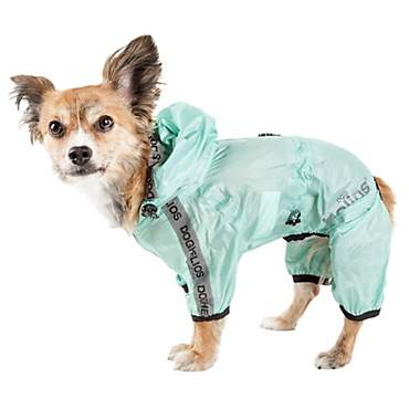Dog Helios Torrential Shield Waterproof Multi-Adjustable Dog Windbreaker Raincoat