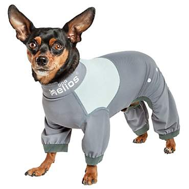 Dog Helios Tail Runner Lightweight Grey Dog Track Suit