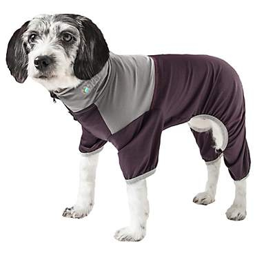 Pet Life Active Embarker Full Body Warm Up Brown Dog Sweaters