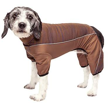 Pet Life Active Chase Pacer Heathered Performance Brown Dog Sweaters