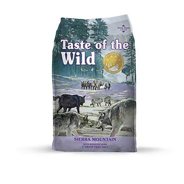 Taste of the Wild Sierra Mountain Grain-Free Roasted Lamb Dry Dog Food