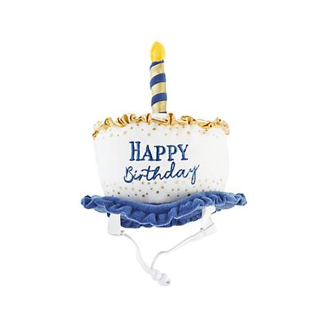 Bond & Co. Light Up Birthday Dog Hat, Small/Medium