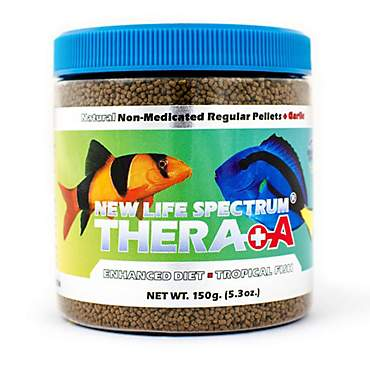 New Life Spectrum Thera+A Regular Pellet Enhanced Non-Medicated Fish Food