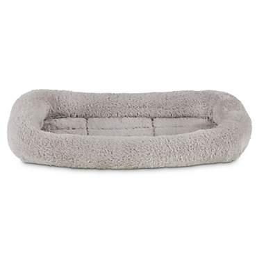 Animaze Bolster Gray Dog Mat
