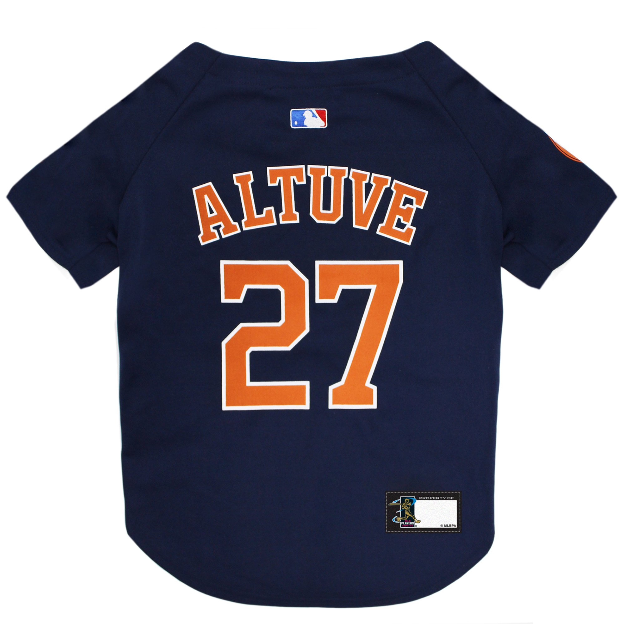 new arrival 7a16f 74b56 Pets First Houston Astros Jose Altuve Dog Jersey, Large | Petco