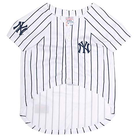 super popular 7f391 cbac3 Pets First New York Yankees Giancarlo Stanton Dog Jersey, Large