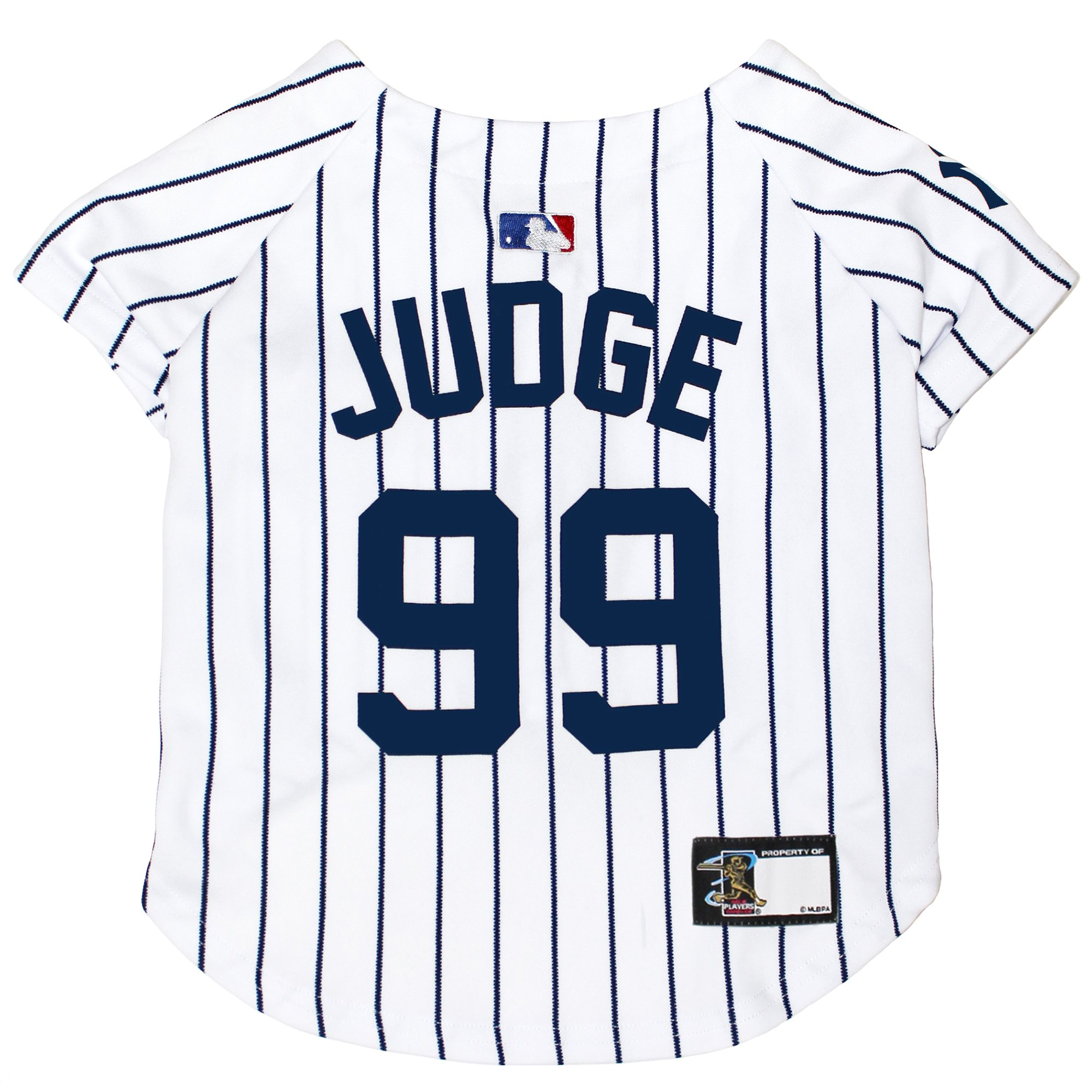 quite nice bc405 52d58 Pets First New York Yankees Aaron Judge Dog Jersey, X-Small | Petco