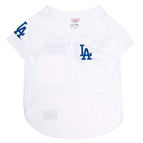 best loved 63bc4 cd735 Pets First Los Angeles Dodgers Clayton Kershaw Dog Jersey, X-Small