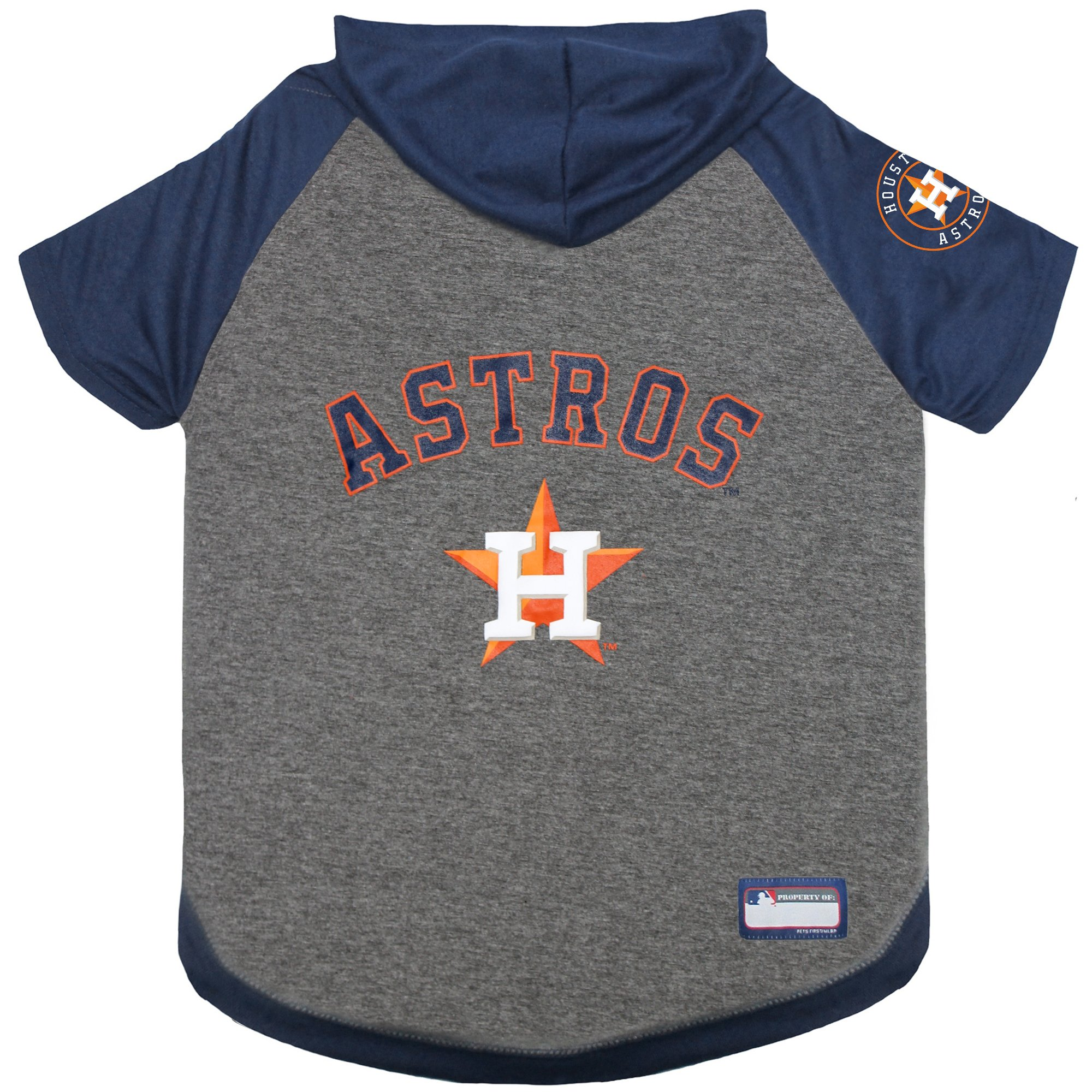 huge discount 3ca95 c765c Pets First Houston Astros Hoodie T-Shirt for Dog, X-Small | Petco