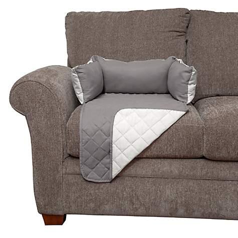 Amazing Furhaven Sofa Buddy Furniture Cover Dog Bed Gray 18 L X 26 W Machost Co Dining Chair Design Ideas Machostcouk