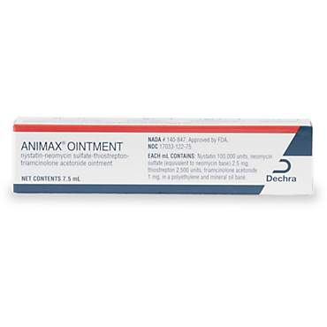 Animax Topical Ointment, 7 5 ml