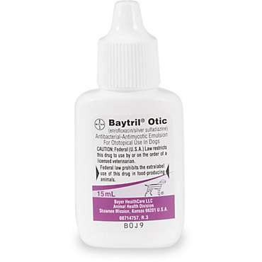 Baytril Otic Emulsion for Dogs
