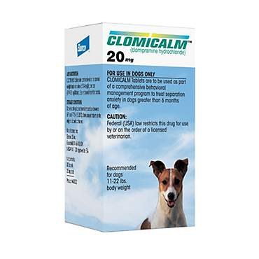 Clomicalm 20 mg Tablets for Dogs