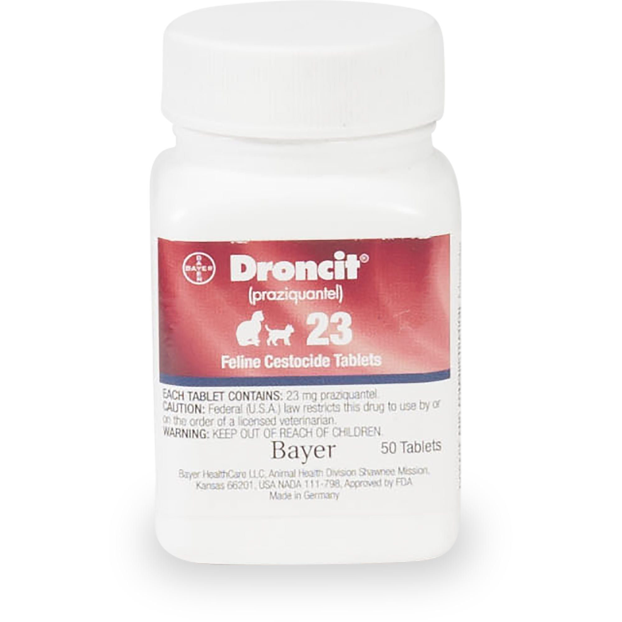 Droncit 23 mg Tablets for Cats | Petco