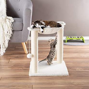 PETMAKER Hammock and Scratcher Cat Tree