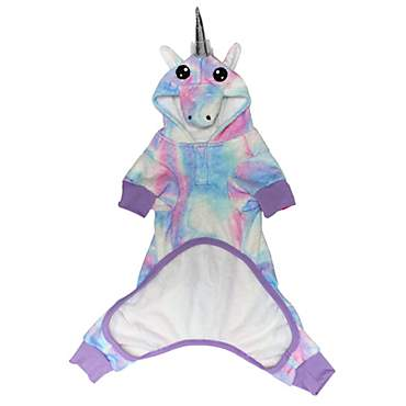 LaurDIY Pets First Onesie Unicorn for Dogs