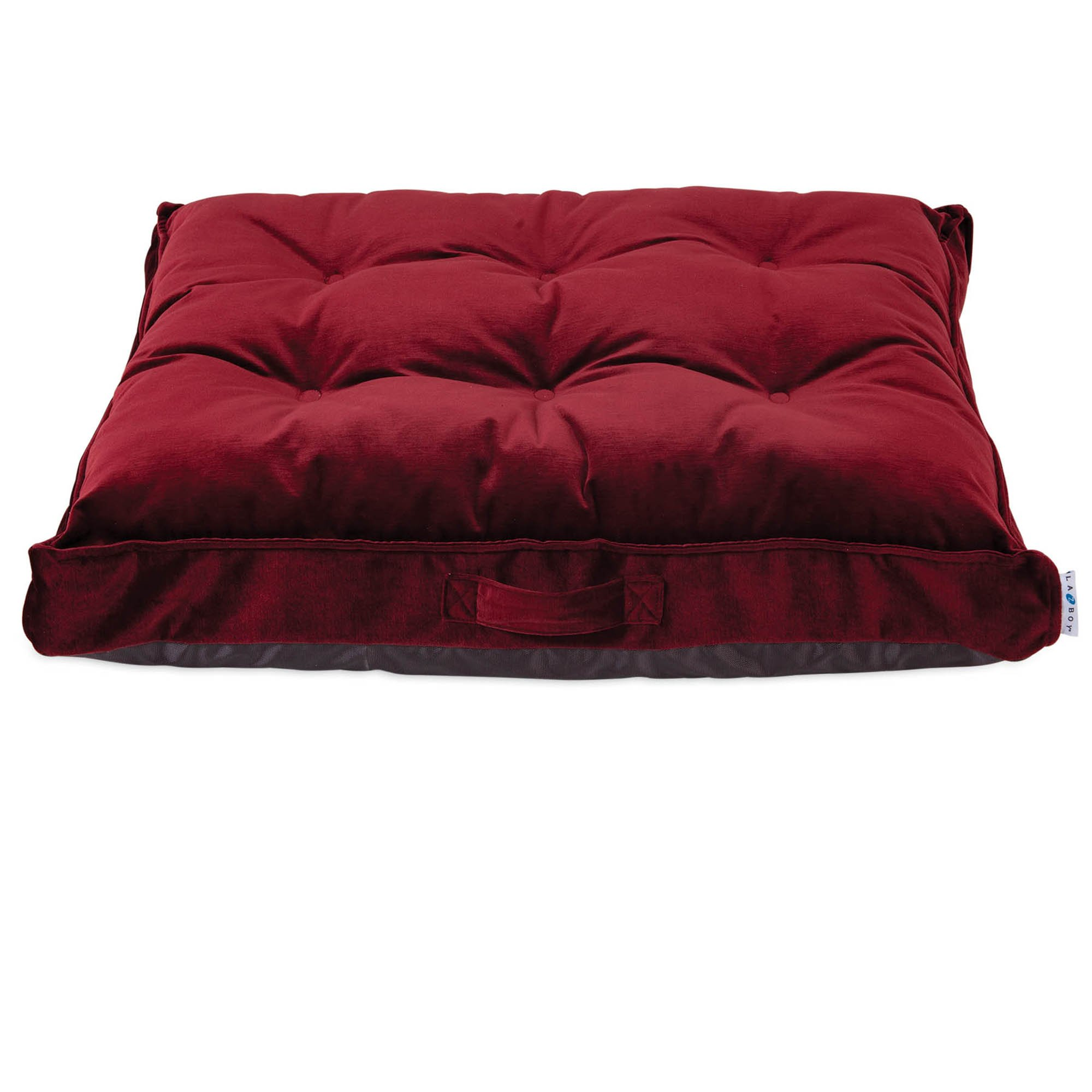 "La Z Boy Cooper Mattress Merlot Dog Bed, 36"" L X 27"" W, Large"