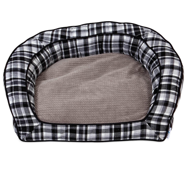 "La Z Boy Tucker Spencer Plaid Sofa Dog Bed, 33"" L X 30"" W, Large"